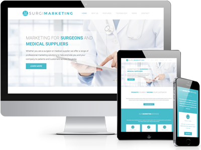 Websites for Surgeons and Medical Suppliers