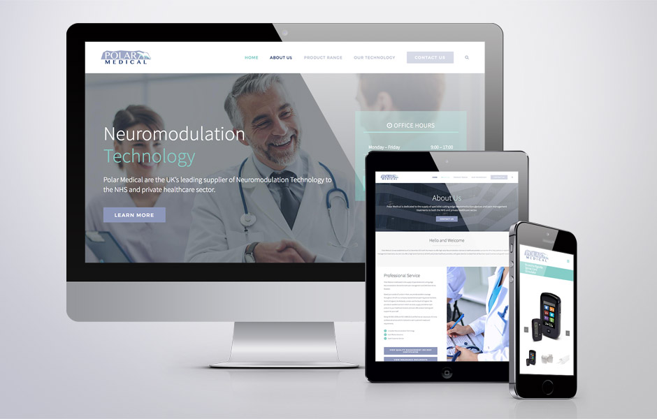 Medical Supplier Website Creation - Polar Medical